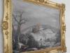 Obraz Pernštejnu v zimě