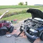 Dopravní nehoda v Čebíně