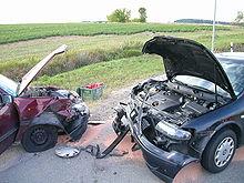 Dopravnínehoda dvou aut