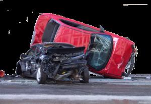 Srážka dvou osobních aut