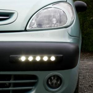 Svítida v osobním autě