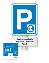 Parkovací kotouč nejen pro Alberta