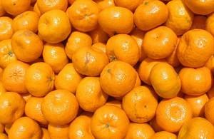 Mandarinky v supermarketu