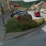 Spackaná křižovatka Riegrova - Kukýrna v Tišnově