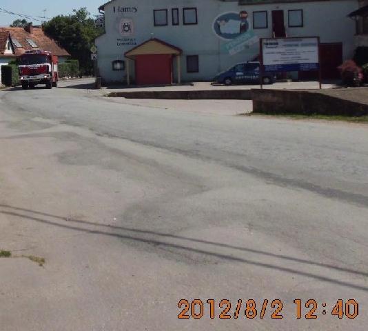SDH Tišnov vjíždí do Lomničky
