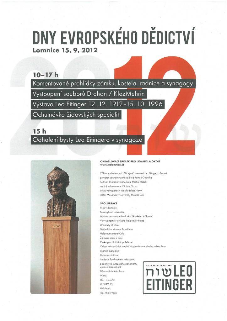 Dny evropského dědictví 19.9.2012 v Lomnici