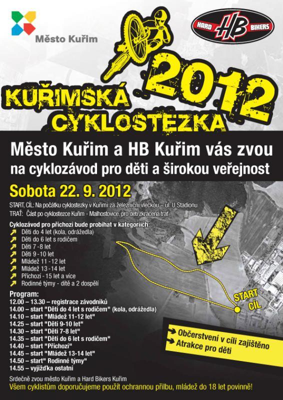 Kuřimská cyklostezka 2012