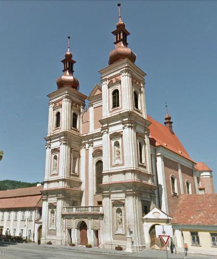 Kostel v Lomnici