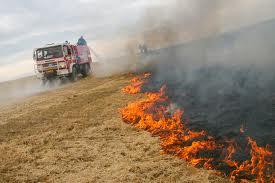 Drásov a požár pole