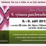 Jana Dušková - 9. výstava patchworku v Tišnově