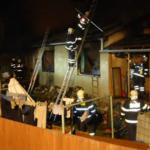 Rozsáhlý požár rodinného domu v Drahoníně