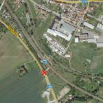 Dopravní nehoda u Hradčan - odbočky na Březinu