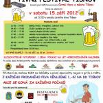 Na pivní festival v Tišnově zve restaurace Sklep a FIPO