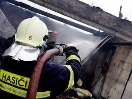 Požár RD v Malhostovicích