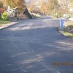 Nová silnice přes Ochoz u Tišnova