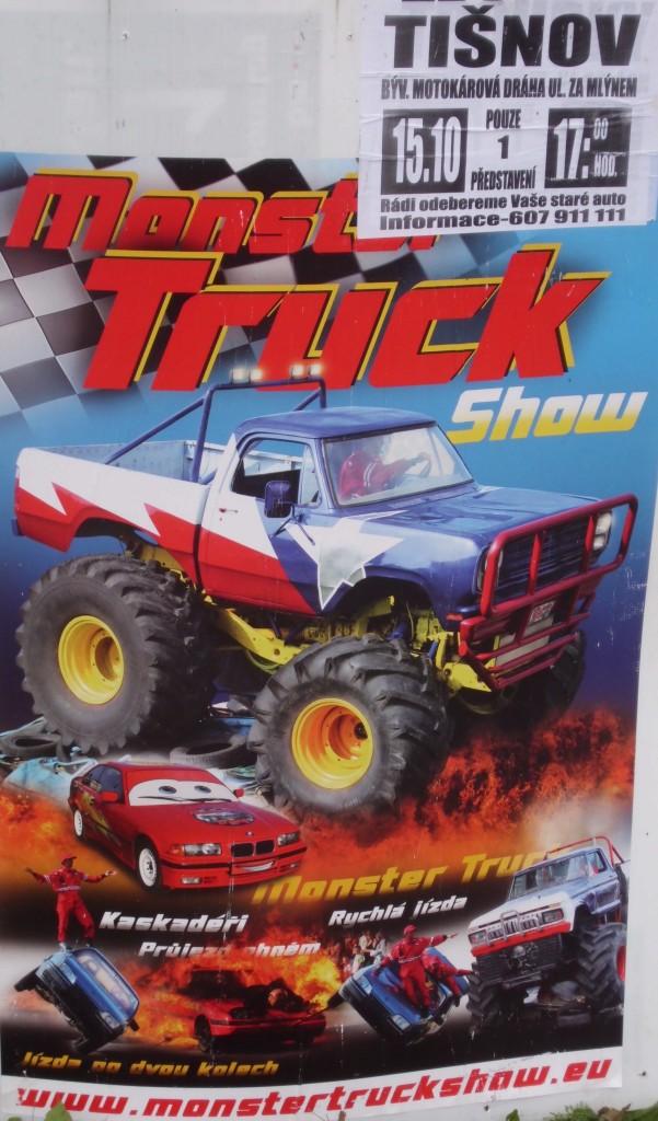 Monster Truck Show v Tišnově 2012
