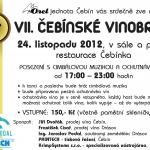 Čebínské vinobraní 2012