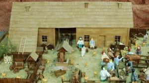 Moravská vesnička - betlém