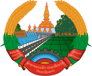 Státní znak Laosu