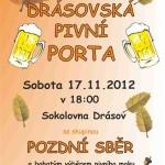 Drásovská pivní porta 2012