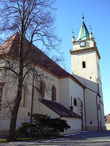 Kostel svatého Václava v Tišnově