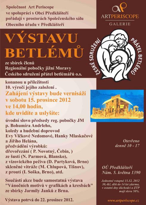 Betlémy v Předklášteří