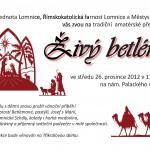 Živý betlém na Lomnici 2012