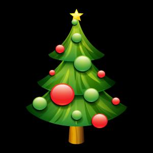 Vánoční stromeček ve Veverské Bítýšce