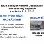 KČT Doubravník a jeho výlet do Žďáru