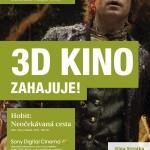Kino Svratka zahajuje svůj 3D provoz po rekonstrukci