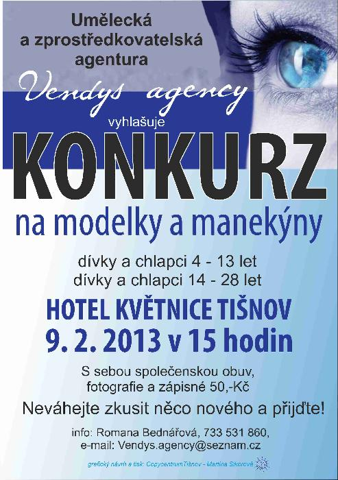Konkurz Vendys Agency