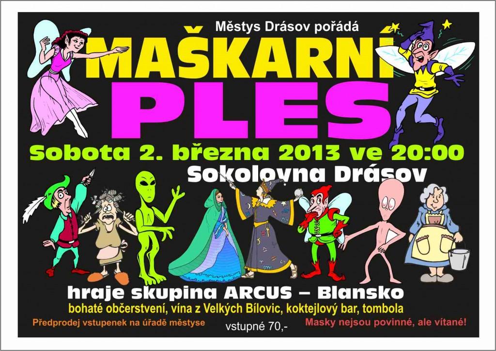 Maškarády v Drásově 2013