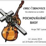 Pochování basy v Černovicích