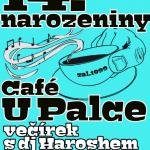 Čtrnácté narozeniny Café u Palce v Tišnově