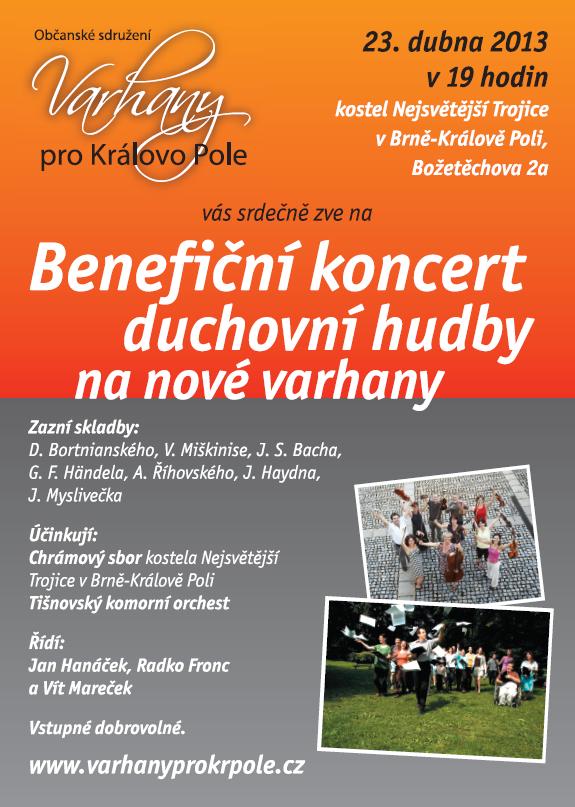Tišnovský komorní orchestr v Králově Poli