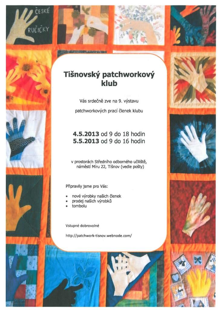 Patchworková výstava v Tišnově