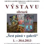 Výstava obrazů na Lomnici v synagoze