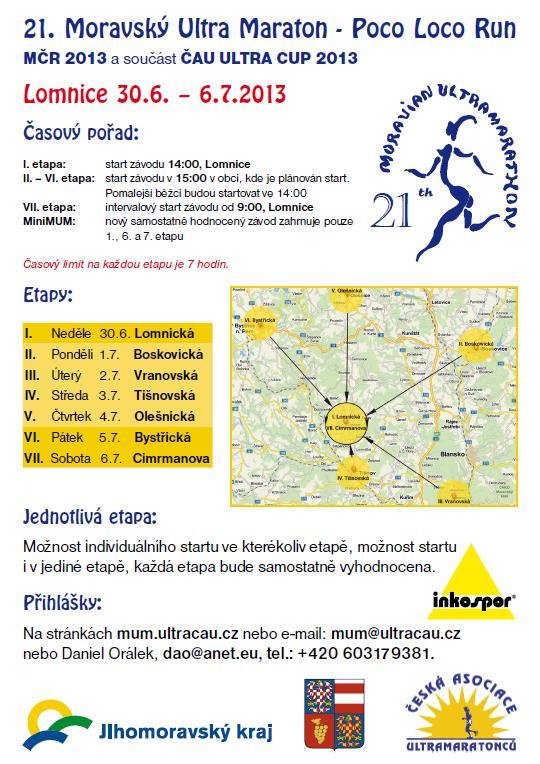 21. moravský Ultra maraton