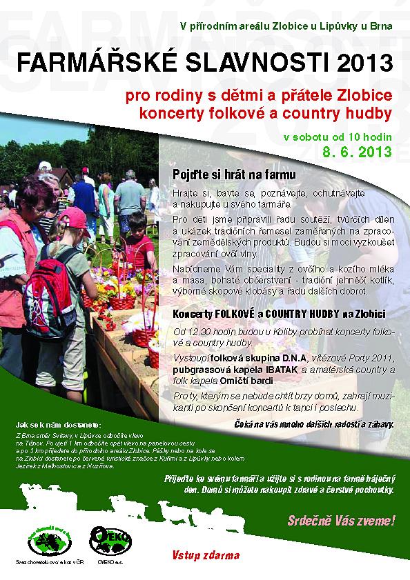 Farmářské slavnosti 2013 u Lipůvky