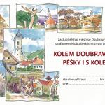 Kolem Doubravníku pěšky i s kolem 2013 - statistika