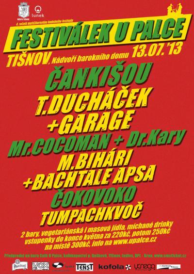 U PAlce 2013 - Festiválek