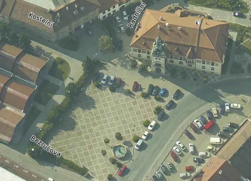 Hlavní náměstí v Tišnově
