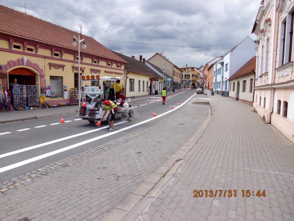 Cyklostezka na Brněnské