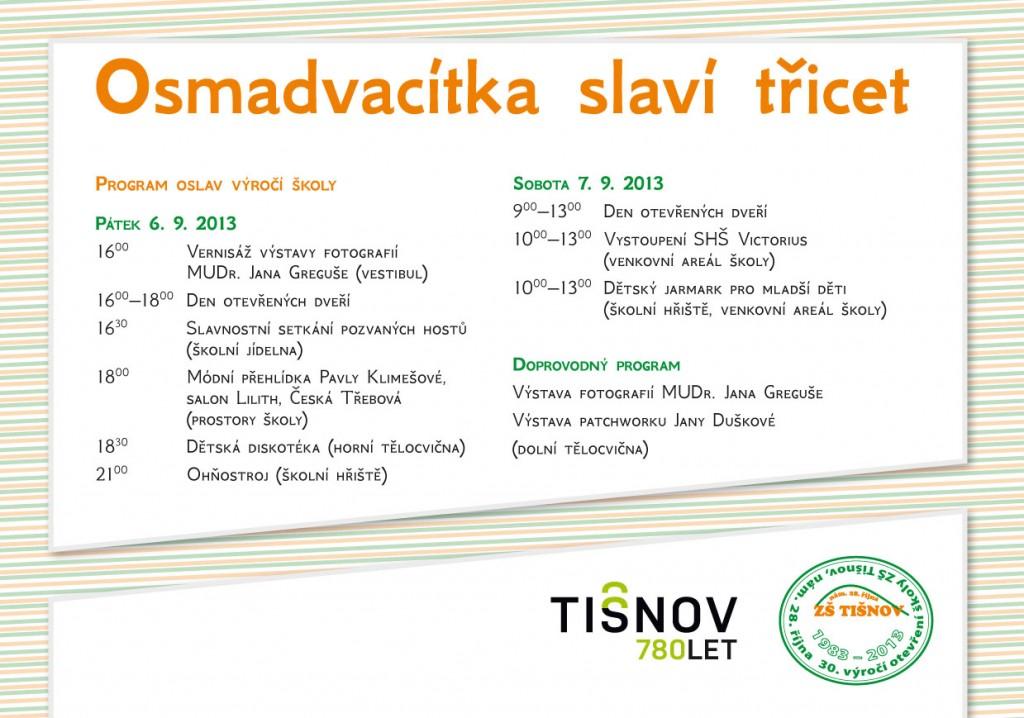 ZŠ 28. října slaví 30 let v Tišnově