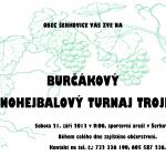 Burčákový nohejbalový turnaj trojic v Šerkovicích 2013