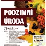Podzimní trhová slavnost Podzimní úroda v Tišnově