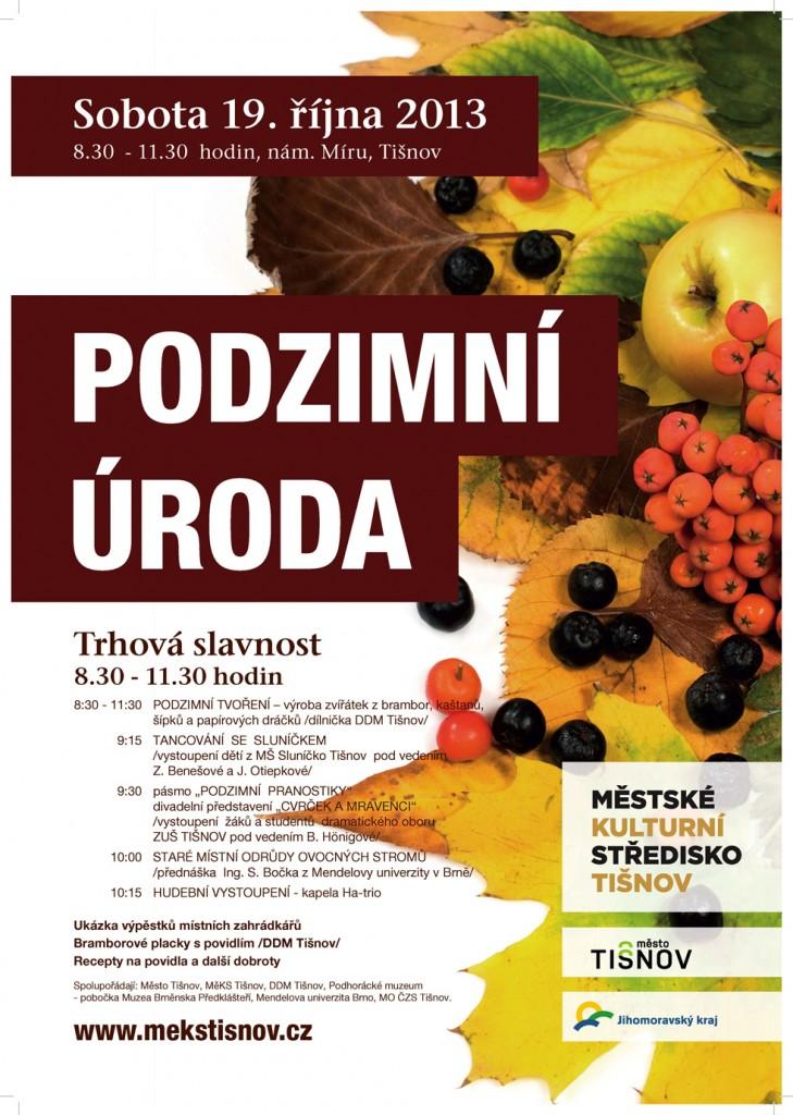 Podzimní úroda v Tišnově 2013