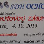 Pouťová zábava v Ochozi u Tišnova 2013