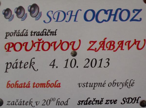 Pouť v Ochozi u Tišnova 2013