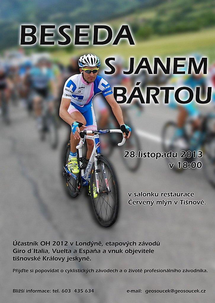 Cyklista Jan Bárta